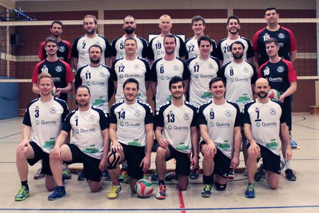 Quentic equips Volleyball team with new jerseys